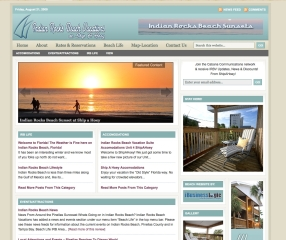 Seasonal Beach Condo Vacation Rentals, Indian Rocks Beach, Florida