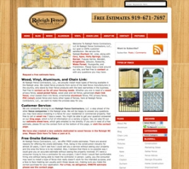 Raleigh Fence Contractors - Raleigh, North Carolina