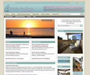 Tampa Bay Gulf Beaches Vacation Site