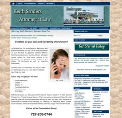 Attorney Website – Bankruptcy and Foreclosure Specialist in St Pete Beach