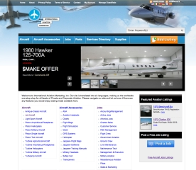 Aircraft Classifieds and Services - International Aviation Marketing - Sarasota, Florida