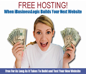 Free Hosting! Websites are not Free, but iBusinessLogic Hosting can be!