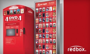 Free Video Rental at Redbox